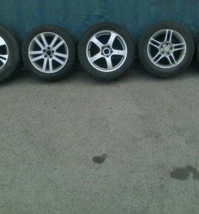 5 Комплектов колёс.