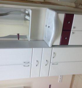 Набор мебели для ванной комнаты (новый)