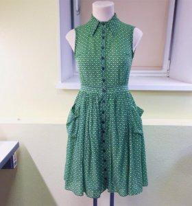 Платье рубашка из итальянской марлевки
