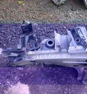 Лонжерон передний левый для Sandero 2009-2014