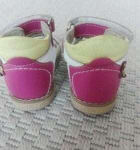 Ортопедические сандали Twiki натуральная кожа