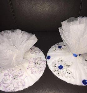 Свадебная тарелочка