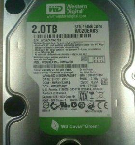 Жеские диски HDD 2 tb
