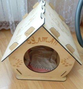 Домик для большого кота или небольшой собачки