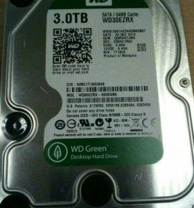 Жеский диск hdd 3TB | В хорошем состоянии!