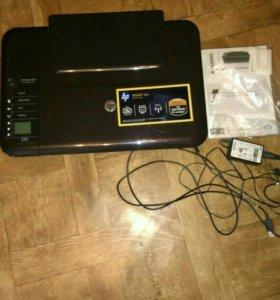 Срочно продам принтер + сканер hp DESKJET 3050