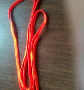 Шнурки , ораньжевые