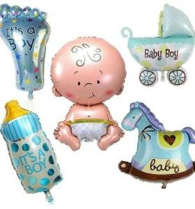 Фольгированные шары новые для мальчиков .