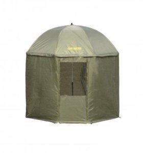 Зонт-палатка для рыбалки с занавеской BUSHIDO 2,5М