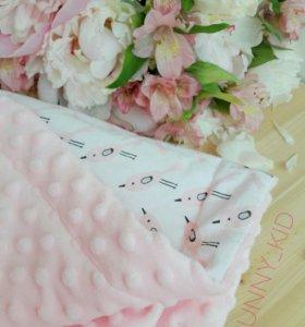 Конверт на выписку, одеяло, плед в коляску