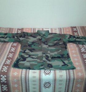 Рубашка камуфляж новая