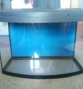 Аквариум для рыб + фильтр