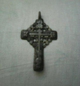 Крест нательный 18-19 век