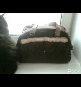 Модельная сумка-переноска для неб. кошечки/собачки