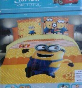 Комплекты постельного белья новые