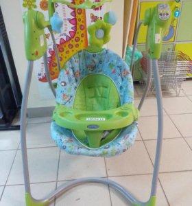 Электрокачели для малышей до года