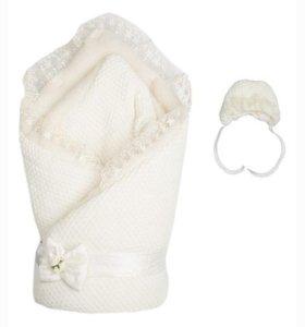 Конверт-одеяло зимний на выписку
