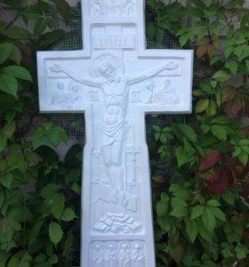 Поклонный крест с предстоящими Святыми