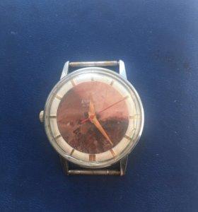Часы Ракета ( циферблат яшма )