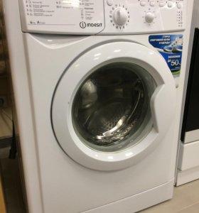 Узкая стиральная машина Indesit iwub 4085