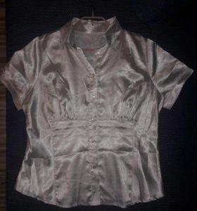 Шелковая блузка 50 р