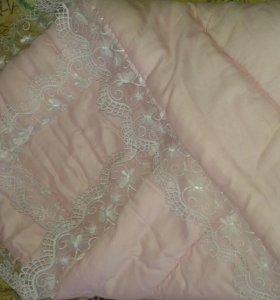 Конверт-одеялко зимнее на выписку