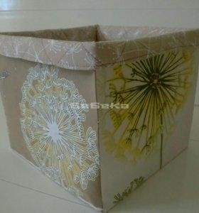 Текстильная коробочка