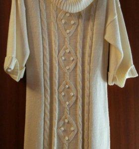 Платье вязаное (46-48)