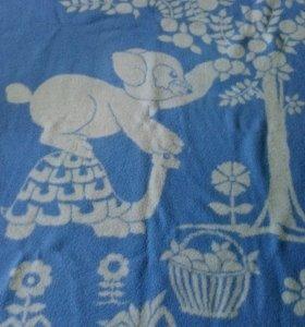 Одеяло детское двухстороннее 130*100см