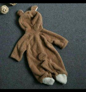 Детский комбинезон медвежонок