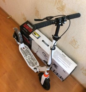 Самокат с ручным дисковым тормозом Scooter Urban