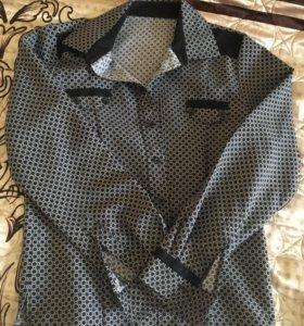 Рубашки на мальчика 2 шт