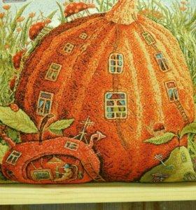Подушка Дом-тыква