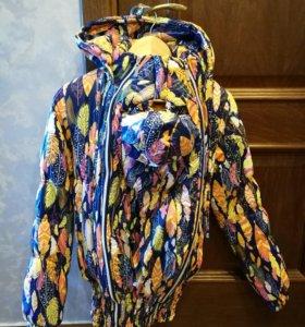 Зимняя слингокуртка,куртка для беременных новая