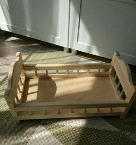 Кроватка для пупса BabyBorn