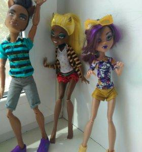 Куклы Monster Hight (3 шт)