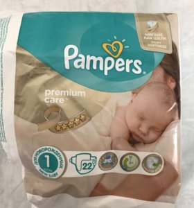 Подгузники и Pampers Premium Care 1 (2-5 кг)
