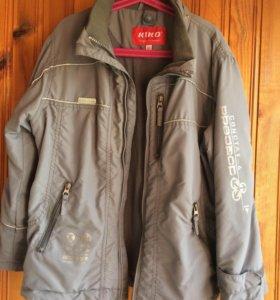 Куртка с отстегивающейся олимпийкой, рост 134