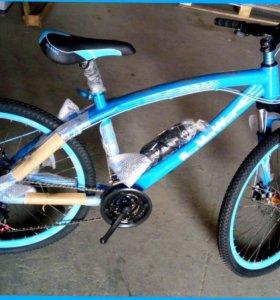 Велосипеды BMW с спицами и литыми дисками