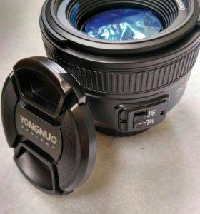 Объектив 35mm yongnuo (nikon)