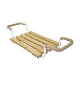 Сиденье на ванну деревянное раздвижное