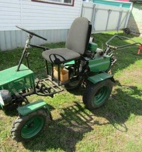 Мини трактор на базе мотоблока МБ-01