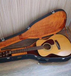 Акустическая фолк гитара Yamaha FG-130 (1973)