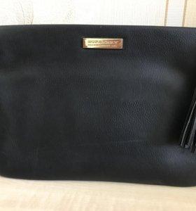 Бербери сумочка с кисточкой
