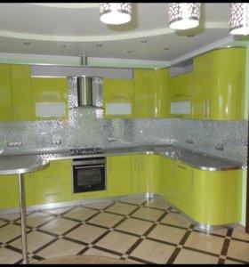 Фабричная мебель- шкафы - купе, кухни, и др. от пр