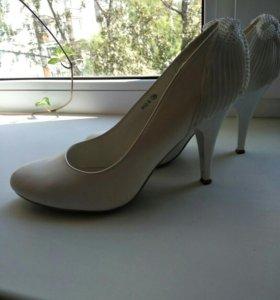 Свадебные туфли 37р