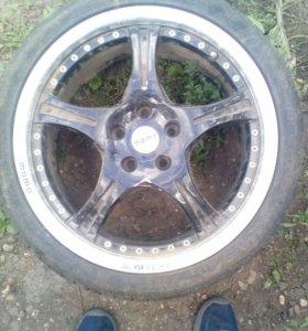 Литое колесо от мерседера