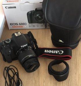 Canon EOS 600D Kit 18-55 IS II Black