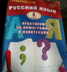 Практикум по орфографии и пунктуации(8 класс )
