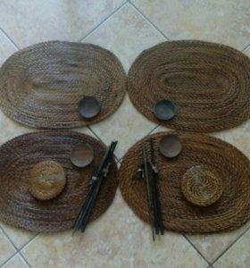 Набор для суши из бамбука
